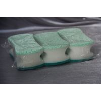 Household cleaning tool sponges scouring pads
