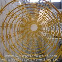 Concertina razor wire | razor ribbon | razor barbed tape thumbnail image