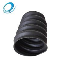 Ordinary thick 100/110mm HDPE carbon spiral corrugated pipe electrical wire cable protection pipe