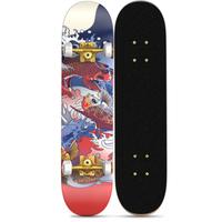 Fashion Print maple board +PU wheels Complete Deck Skateboard thumbnail image