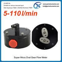 100% anti-corrosion chemicals mini low micro flow meter