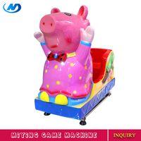 MIYING peppa pig girls kiddie ride children ride on toys game machines for children