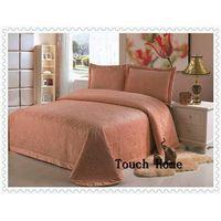 Ployester printed coverlet, bedspread three pcs, five pcs Fabric material: ployester Pillowcase:50x7