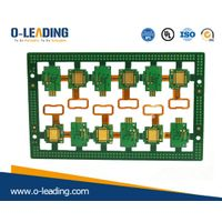 Rigid-Flex PCB with Polymide + FR4 material