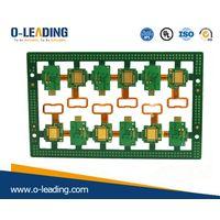 Rigid-Flex PCB with Polymide + FR4 material