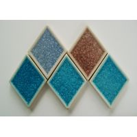 Glass ceramics tile