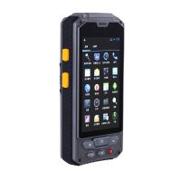 Android 4.4 OS handheld PDA UHF/HF/LF RFID reader with 3G GPS WIFI