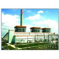 Structures of Steel for Vietnam 2*30mw Power Station, 2100t