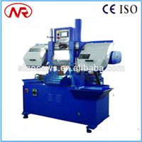 GS-260 autormatic cutting steel band saw hydraulic CNC band saw machine