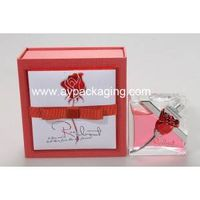 top quality hand polished perfume bottle with plastic cap and shoulder in rigid gift perfume packagi