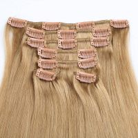 Remy Human Hair Extension Clip on Hair Extension Natural Hair