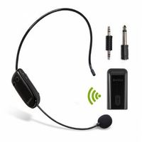 U8 Wireless UHF Headset Microphone Receiver Set for Amplifier or Speakers thumbnail image