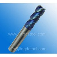 Factory wholesale 4flute Flat carbide end mill cutter