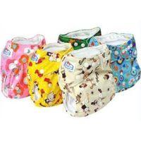 Cartoon Color Print Cloth Diapers thumbnail image