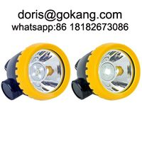 New design ATEX cordless miner's cap lamp thumbnail image