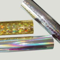 Printable PVC Colorful Holographic Film Suppliers