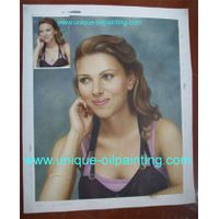 portrait oil painting from photo thumbnail image