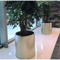 Wholesale stainless steel round flower pots thumbnail image