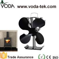 4 Blades Eco Friendly Heat Powered Wood Stove Fan