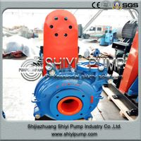 Corrosion Resistant Mill Discharge Water Treatment Slurry Centrifugal Pump