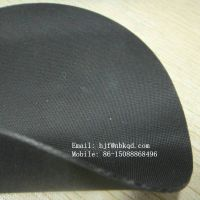 1.0mm Two Faces Matte Black Hypalon Fabric Sheet for Military