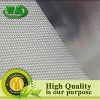 silver color fiberglass foil insulation