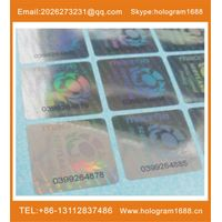 customized Serial number label thumbnail image