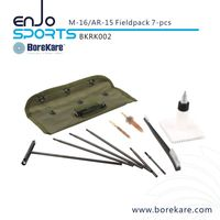 Borekare 7-PCS M-16/Ar-15 Fieldpack Gun Cleaning Rifle Kit