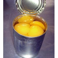Canned yellow peach (425g/820g/3000g) in light syrup thumbnail image