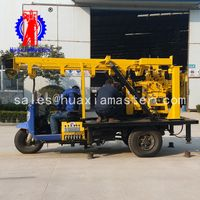 tricycle-mounted water well drilling rig/ borehole civil well drilling machine/geology exploration thumbnail image