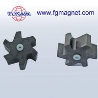 rare earth permanent ferrite plastic molded magnet