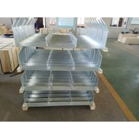 Galvanized frame powder coated frame