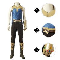 MANLUYUNXIAO Avengers Infinity War Thanos Marvel comic high quality cosplay costume outfits whole se