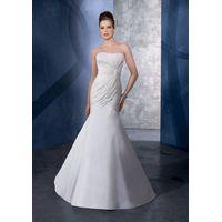 charming mermaid wedding dress