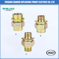 Explosion-Proof Union Coupling A Type (double female thread)