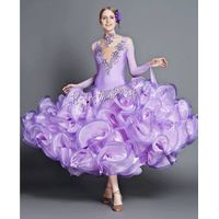 Custom-Made Elegant Ballroom Dance Dress Dancewear
