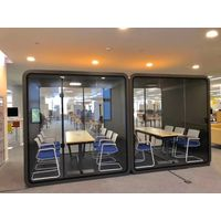 Portable office pod reception soundproof booth for sale