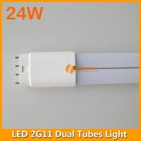 4pins 24W 542mm LED 2G11 Dual Tubes Light