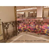 CHEAP PRICE MODERN BALCONY STAINLESS STEEL RAILING HANDRAIL FOR PARADISE HOTEL