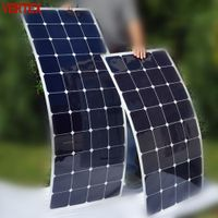 High Efficiency Marine Flexible 200W Solar Panel Made by Good China Solar Cell