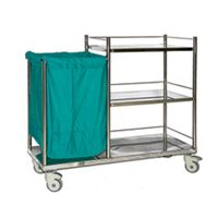 Linen Trolley, Dirty Linen, Clothes, Trolley