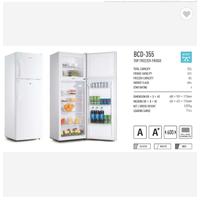 Double Door Fridge Top freezer Household Refrigerator thumbnail image