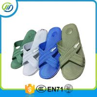 PVC air blowing colorful man slipper