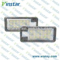 q7 led license plate lamp auto car license lamp