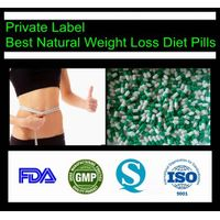 Private Label Diet Slimming Chinese Weight Loss Green Pills
