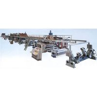 Double wall corrugated production line