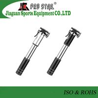 Aluminum 6063 Mini Bicycle Pump in 120PSI with Gauge