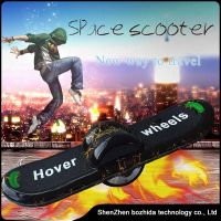 6.5inch one wheel H1 skateboard with shinnig LED lights and lightning colors