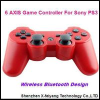 Red Game Controller For Sony PS3