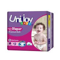 Non-woven Disposable and Printed Feature Diaper baby diaper thumbnail image